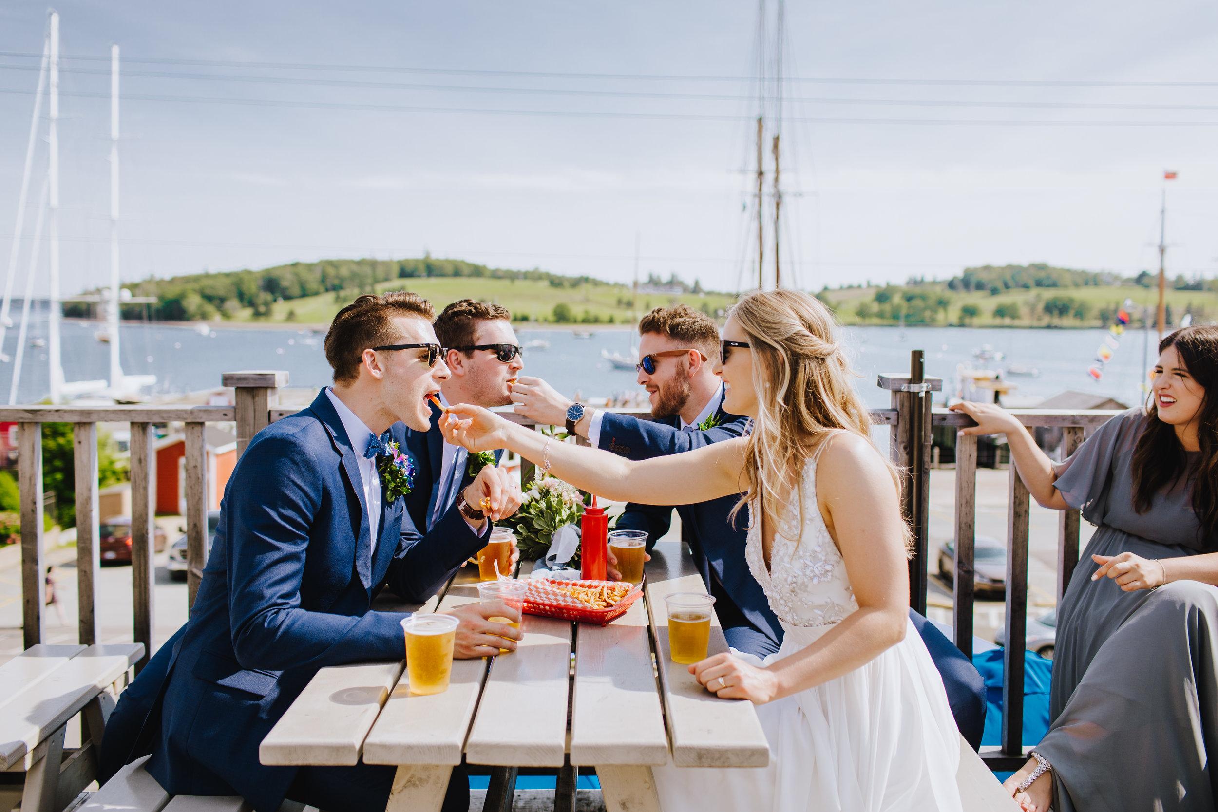 BOSCAWEN-INN-LUNENBURG-WEDDING-DAVE-AND-PRING-PHOTOGRAPHY-SOUTH-SHORE-LUNENBURG-BLUE-NOSE-BRIDE-GROOM-FISH-SHACK