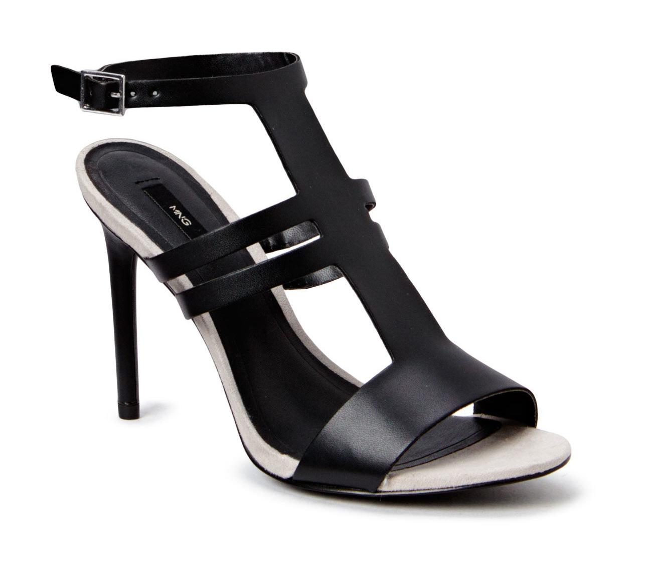 Mango T-bar sandals Farve: Sort Pris: 299,-