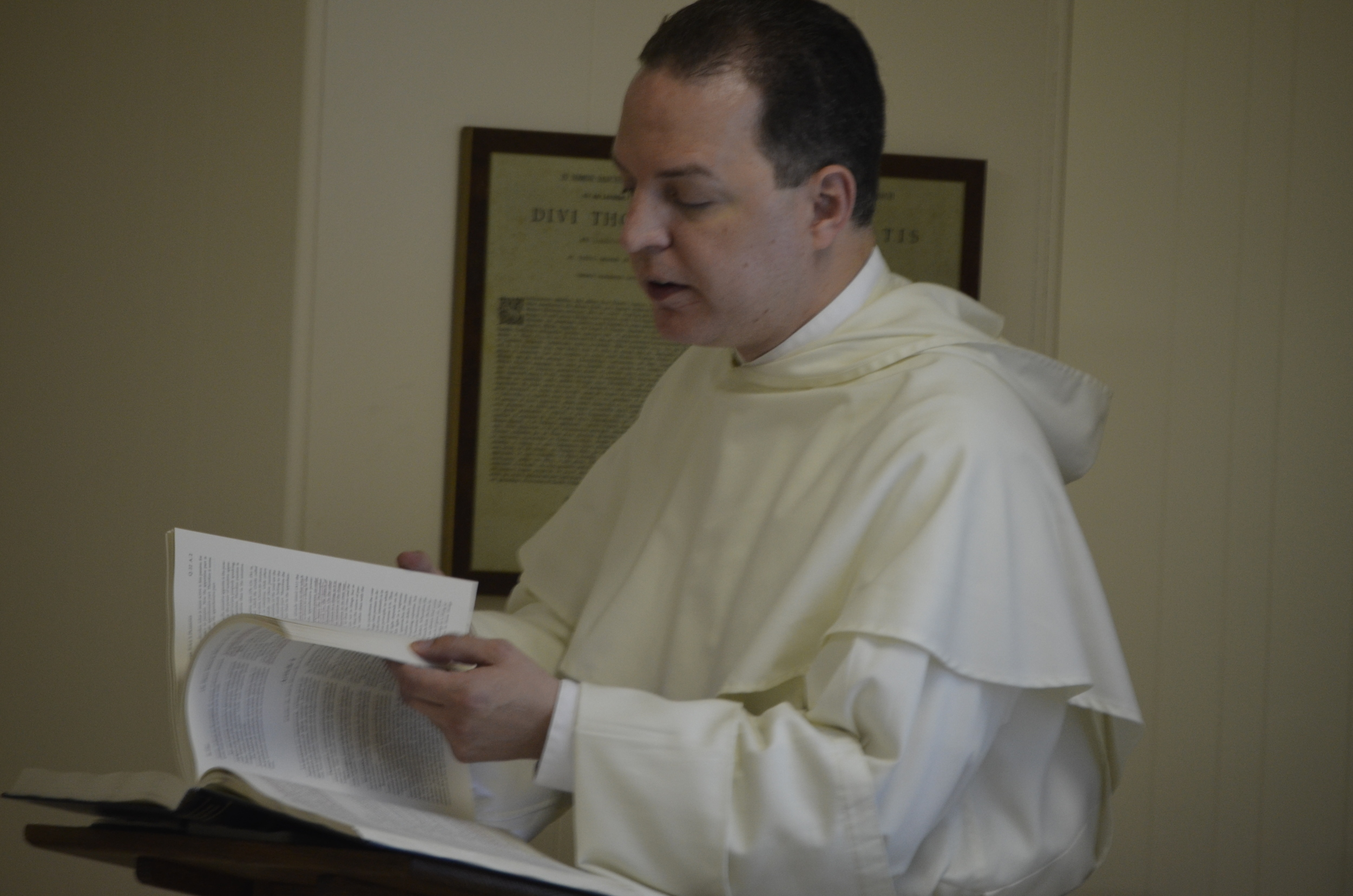 Fr. Thomas Pietri teaches the second week's course.