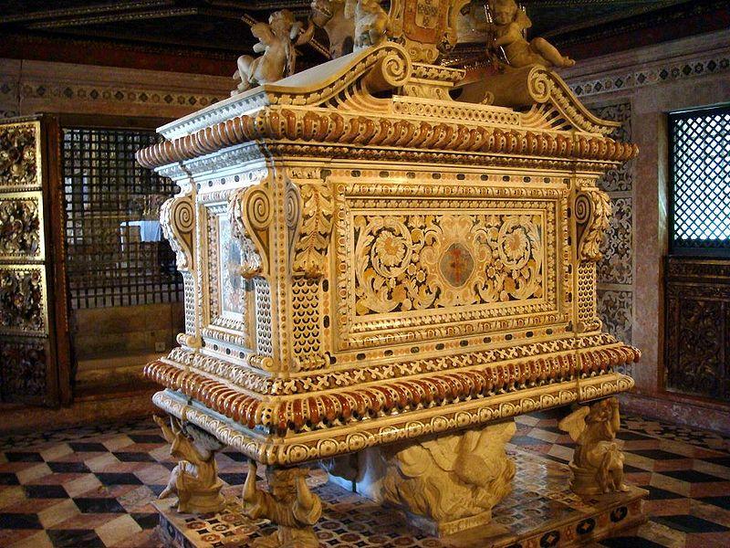 Tomb of Bl. Juana of Aza