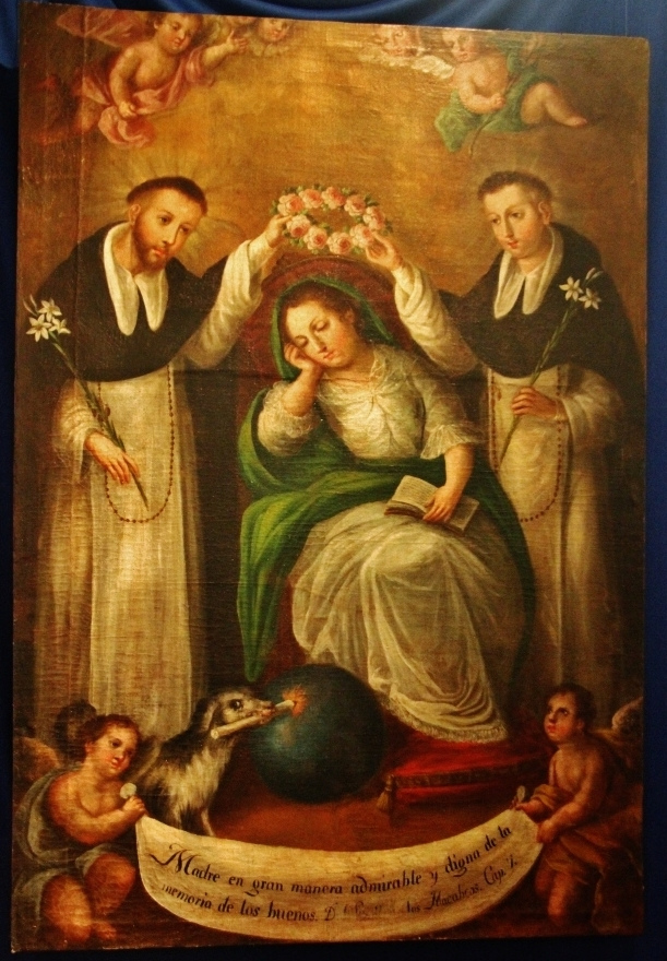 Bl. Juana, mother of our Holy Father, Saint Dominic and Bl. Mannes