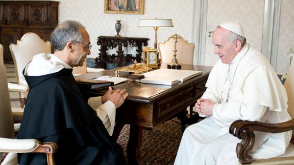 Fr. Bruno Cadore, OP, Master of the Order with His Holiness, Pope Francis