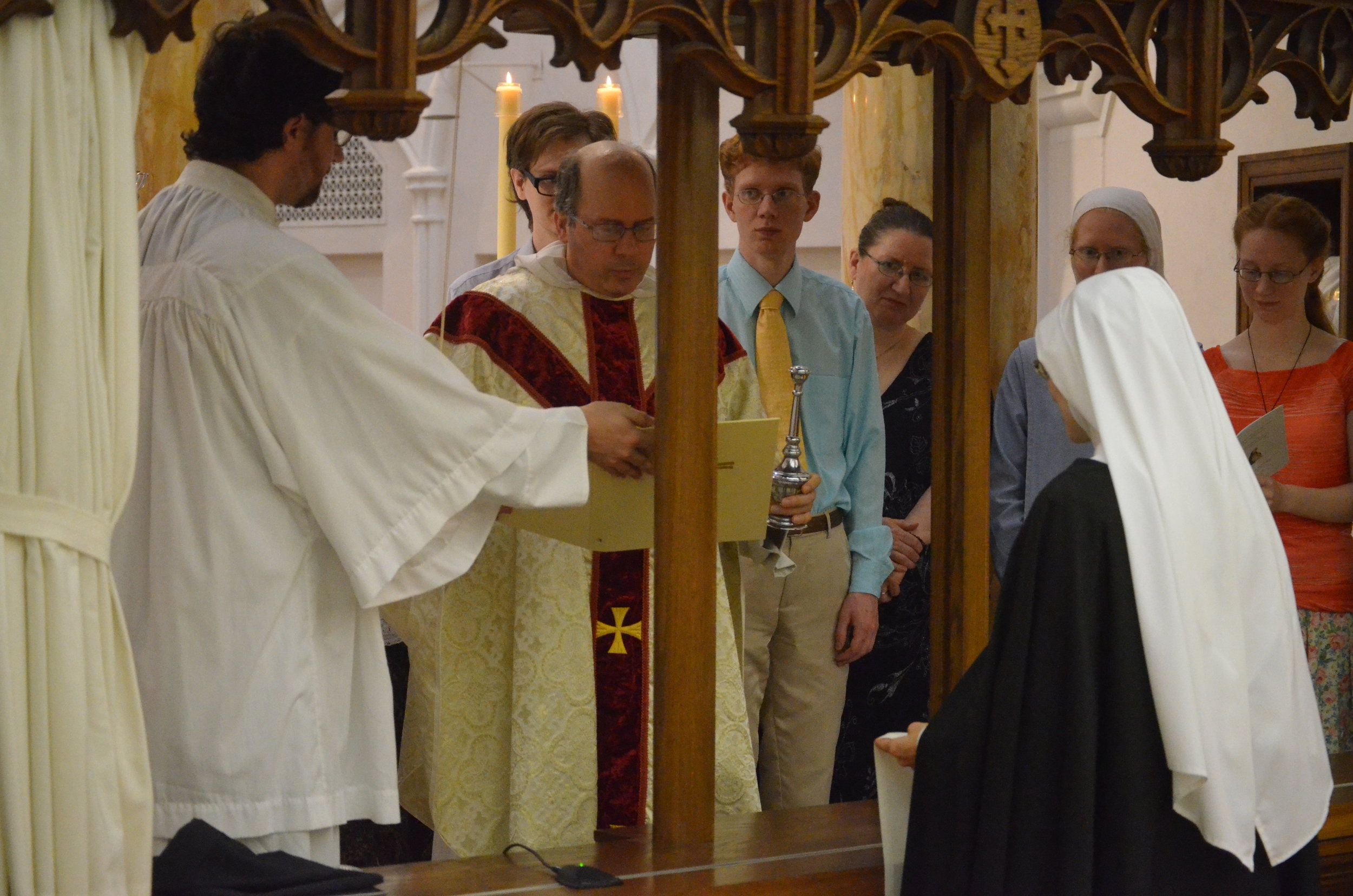 Blessing of the Scapular