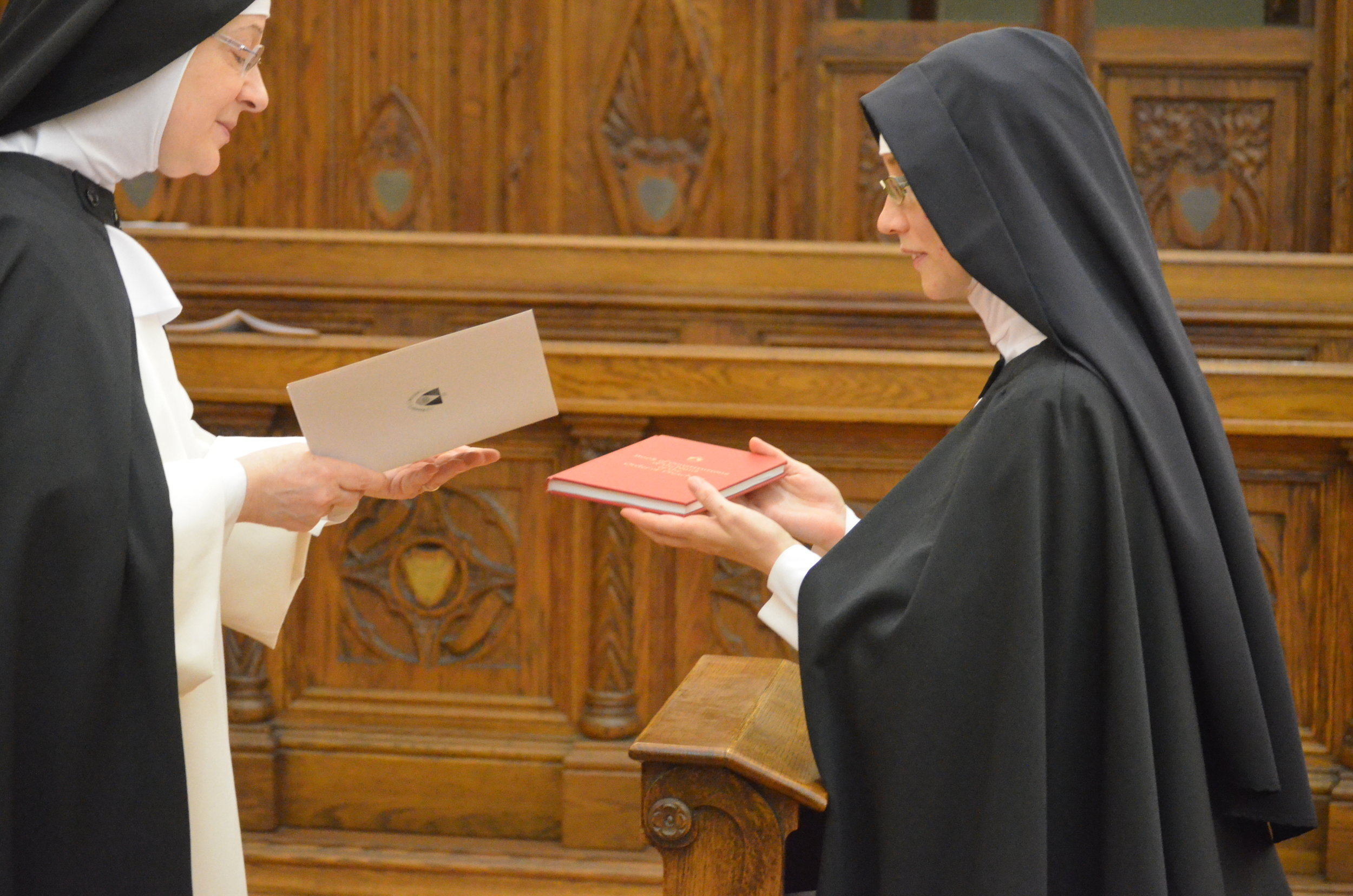 Reception of the Constitutions of Nuns of the Order of Preachers