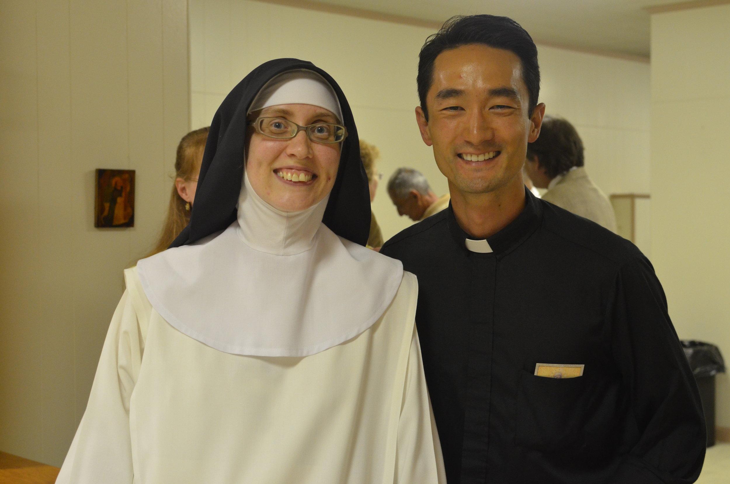 Sr. Maria Johanna & Fr. Patrick