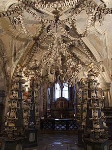 Sedlec Ossuary in an old Cistercian Monastery
