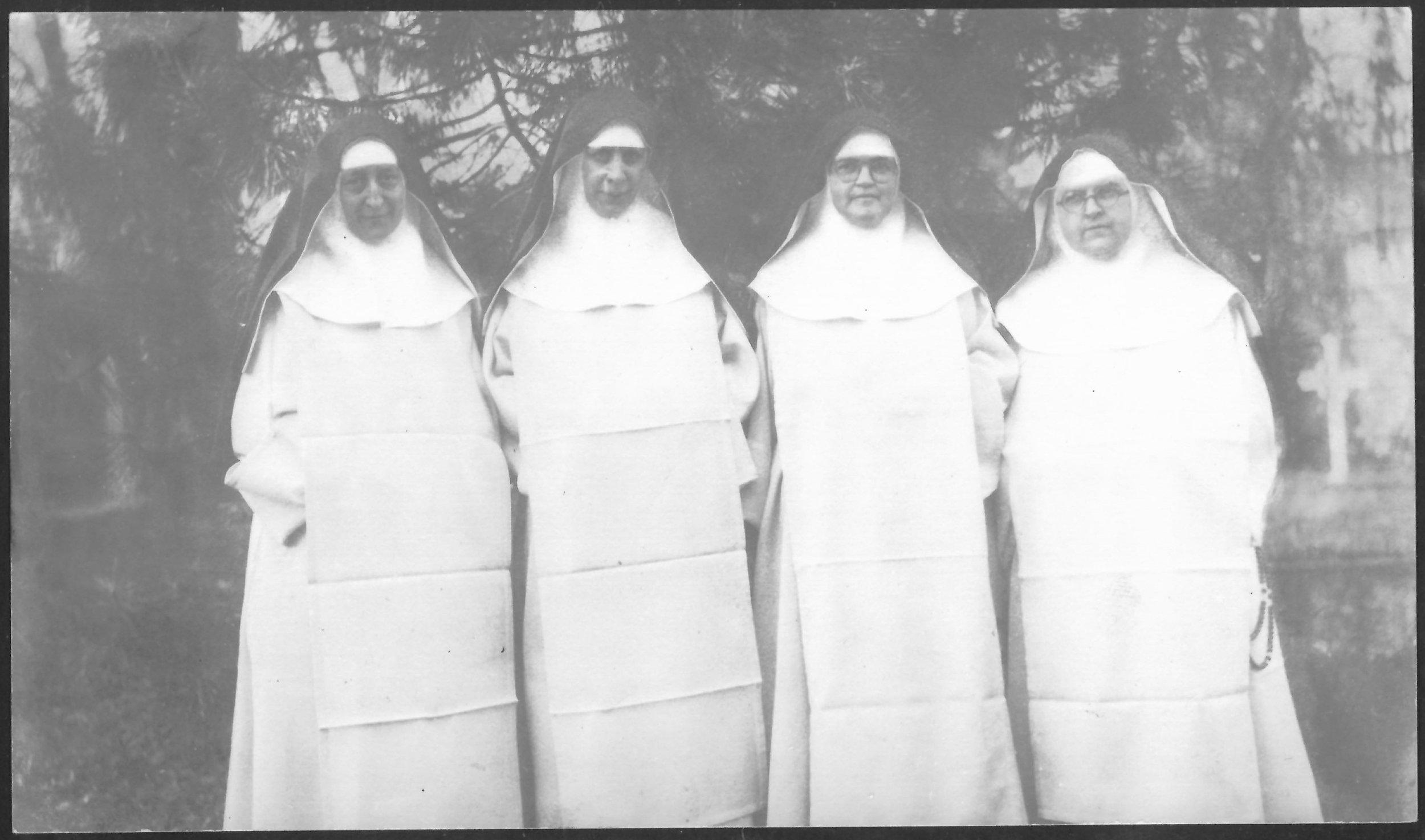 Sr. Mary Veronica, Sr. Mary of Jesus Crucified, Mother Mary Imelda and Sr. Mary Emmeline