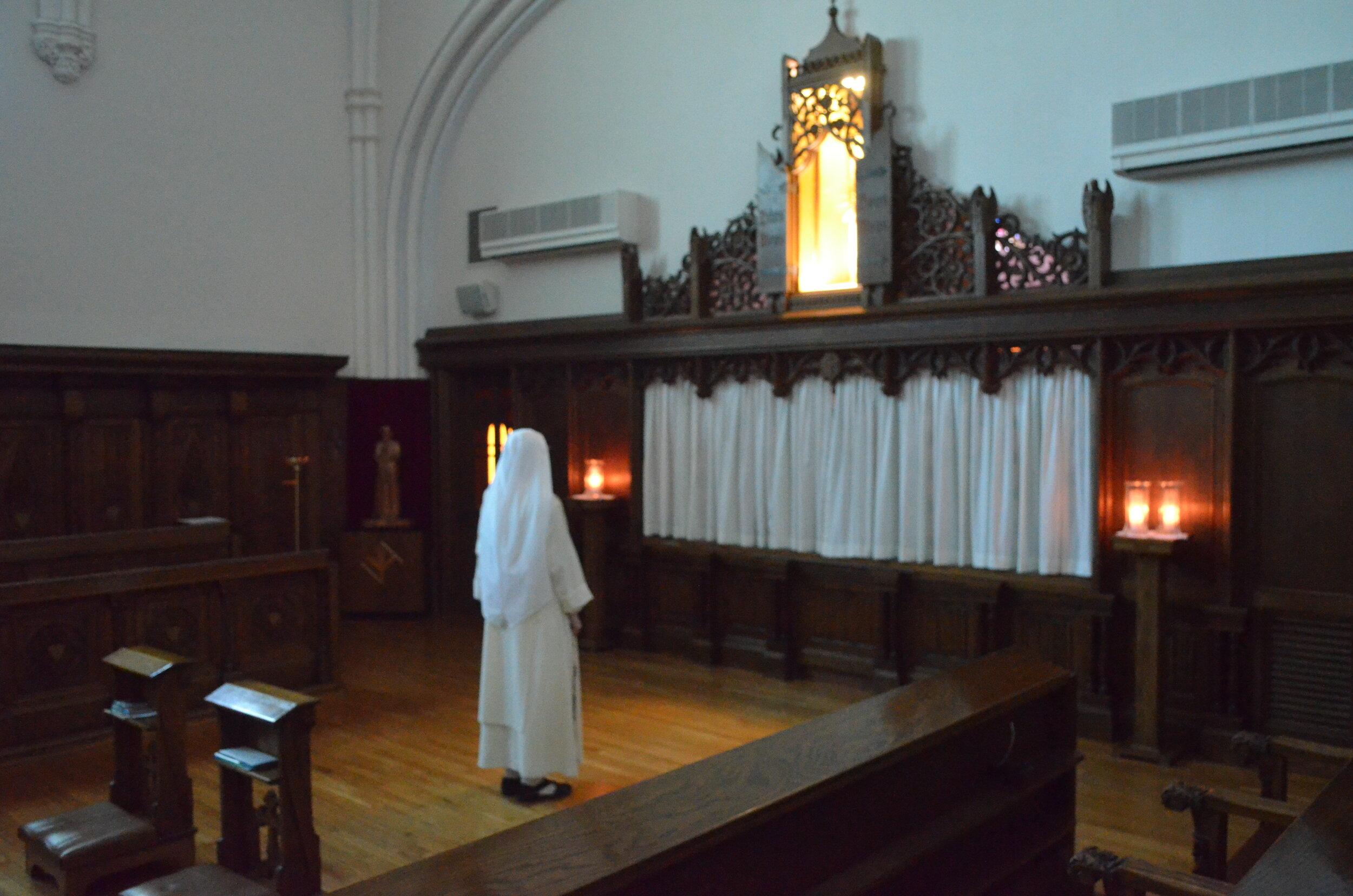 8:30 AM-Adoration & Rosary