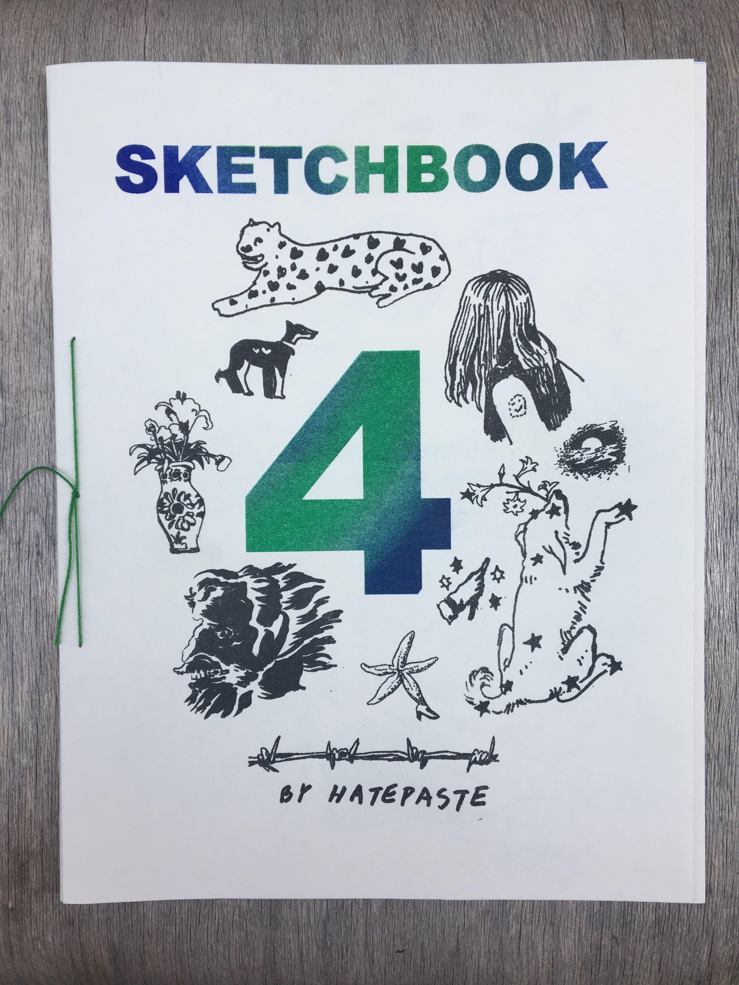 Sketchbook 4by Hatepaste - 20 pg8.5