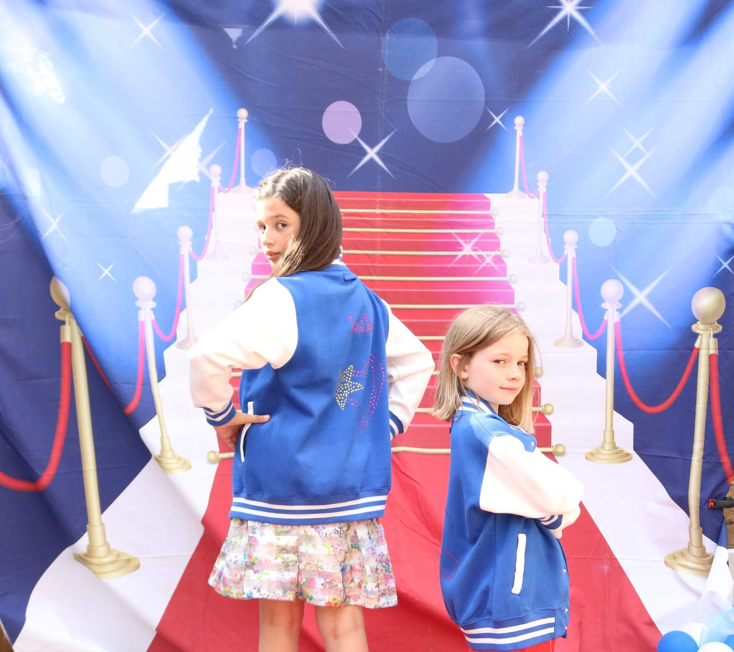 children's fashion party picture