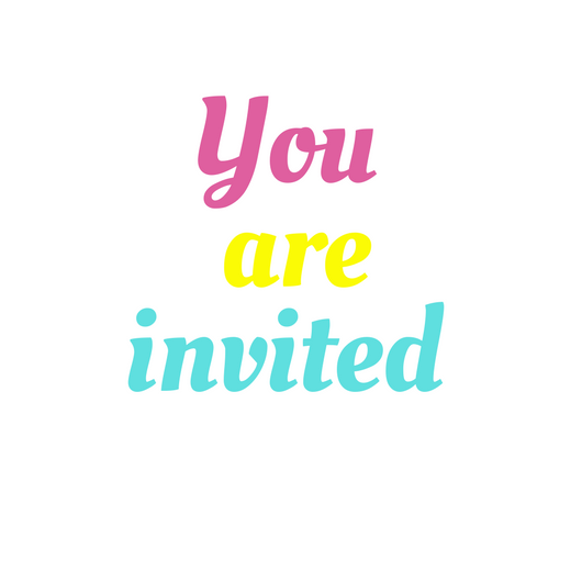 Pink Confetti Kids Party Invitation.png
