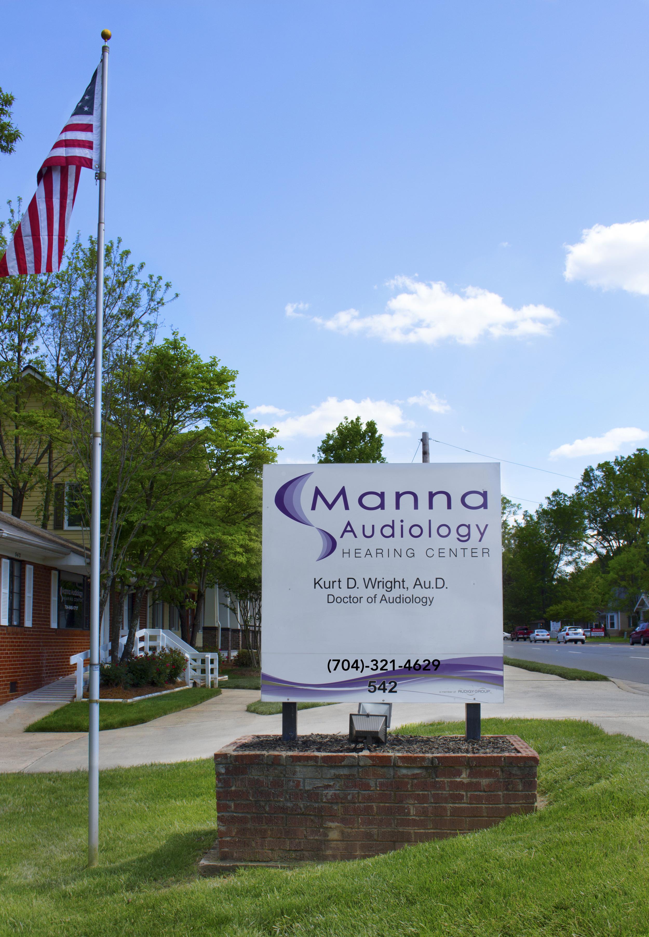 Manna Audiology Front Sign.JPG