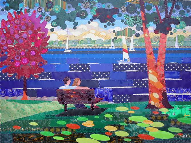 Lake Minnetonka from Excelsior Park