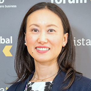 Yuka Kurihara   Director of Globalization,  Pitney Bowes