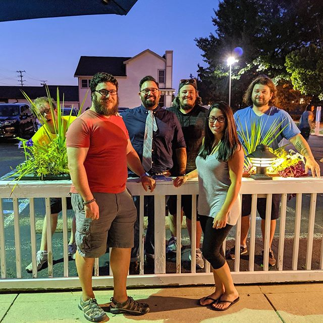 Don't forget to come out and see Veronica's 1st gig with us this Saturday in Bakery Square from 11:30am-12:30pm! We'll be setup outside near West Elm Furniture.  Side note- @codycpiper's face in this is the best 🙌 #nightlystandard . . . . . #leadsinger #hornsection #bass #guitar #bassguitar #drums #percussion #piano #keyboard #vocals #trumpet #saxophone #harmonies #pittsburgh #pittsburghmusic #pittsburghmusicscene #412 #localmusic #livemusic #rockpop #music #recording #newalbum @bachbrass @zildijiancompany @jim.stinnett.bass @yamahamusicusa @paistecymbals @shure @wyeppgh @pittsburghmusicscene @pghcitypaper @lovepghmusic @pittsburghmusicnews @pittsburghmusicreport @bakerysquarepgh