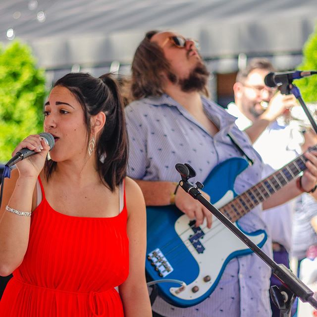 Thanks to everyone who joined us and @chasematthewbarron on Saturday #outdoors at @bakerysquarepgh for our first show with @veronicaabu on #leadvocals ... Credit and much appreciation to @chasematthewbarron for the great photos and for organizing everything ... #nightlystandard. . . . . . #hornsection #bass #guitar #bassguitar #drums #percussion #piano #keyboard #vocals #trumpet #saxophone #harmonies #pittsburgh #pittsburghmusic #pittsburghmusicscene #412 #localmusic #livemusic #rockpop #music #recording #newalbum @bachbrass @zildijiancompany @jim.stinnett.bass @yamahamusicusa @paistecymbals @shure @wyeppgh @pittsburghmusicscene @pghcitypaper @millies @socialatbakerysquare