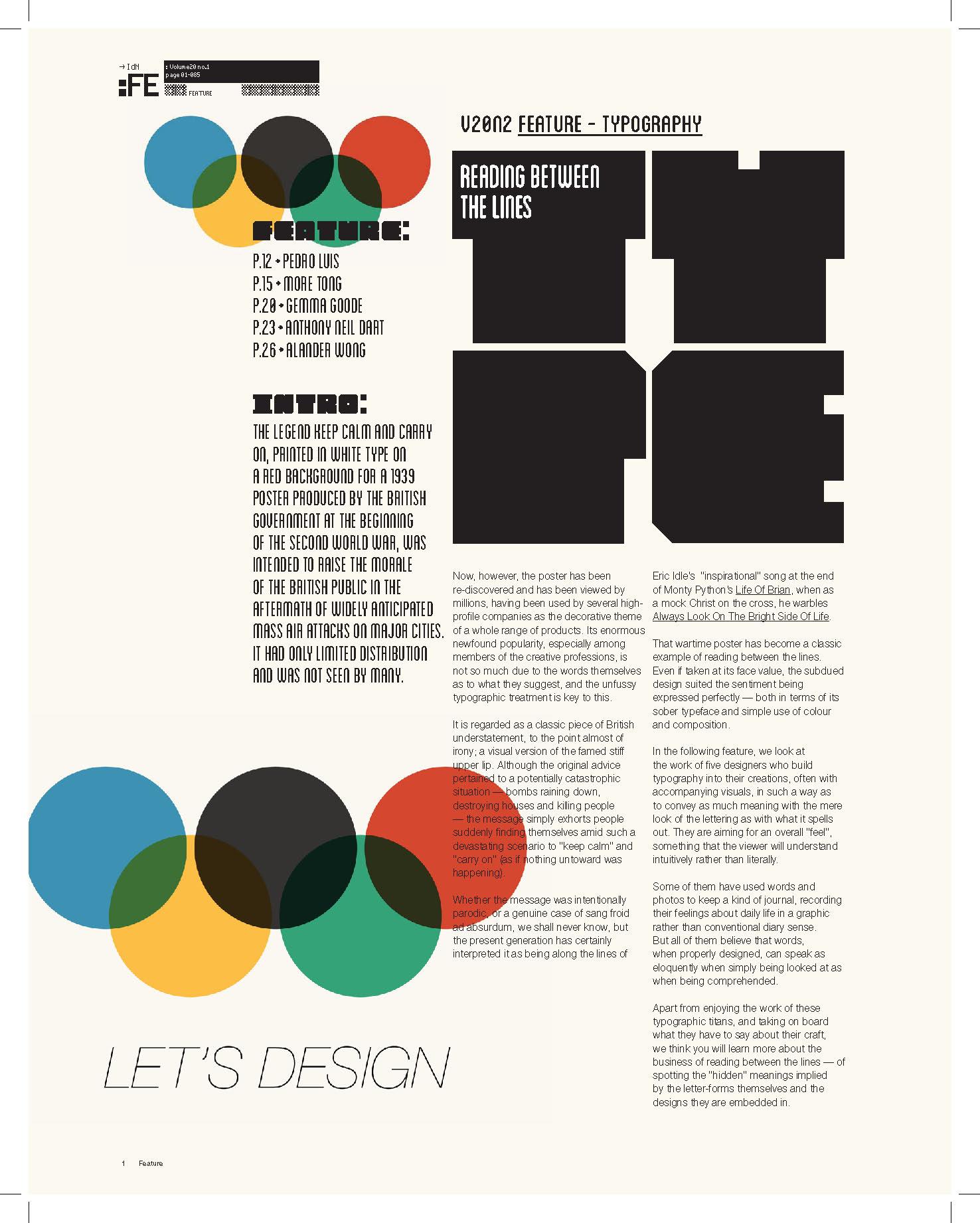 IdN magazine 2013