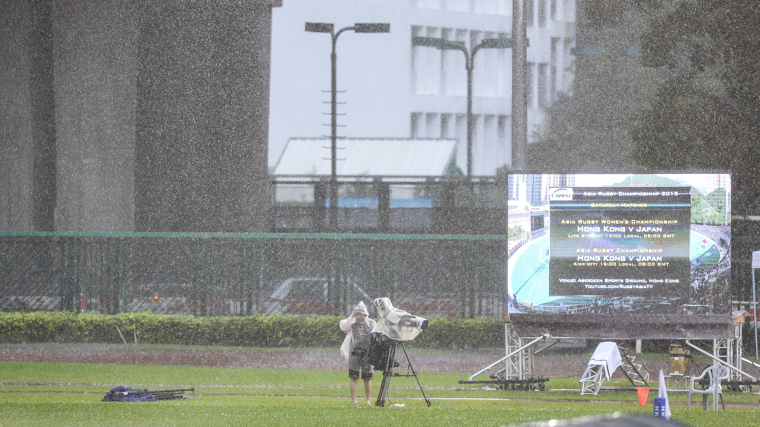 下午時候雨非常非常的大