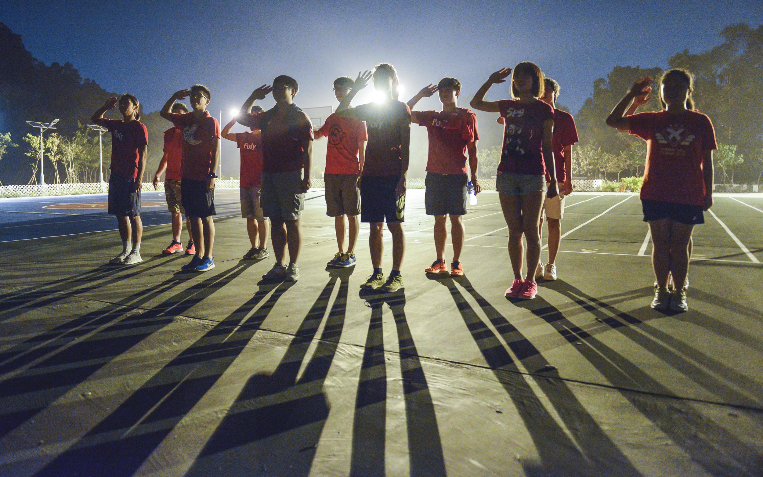 PolyU Sports Team Traning Camp 2014