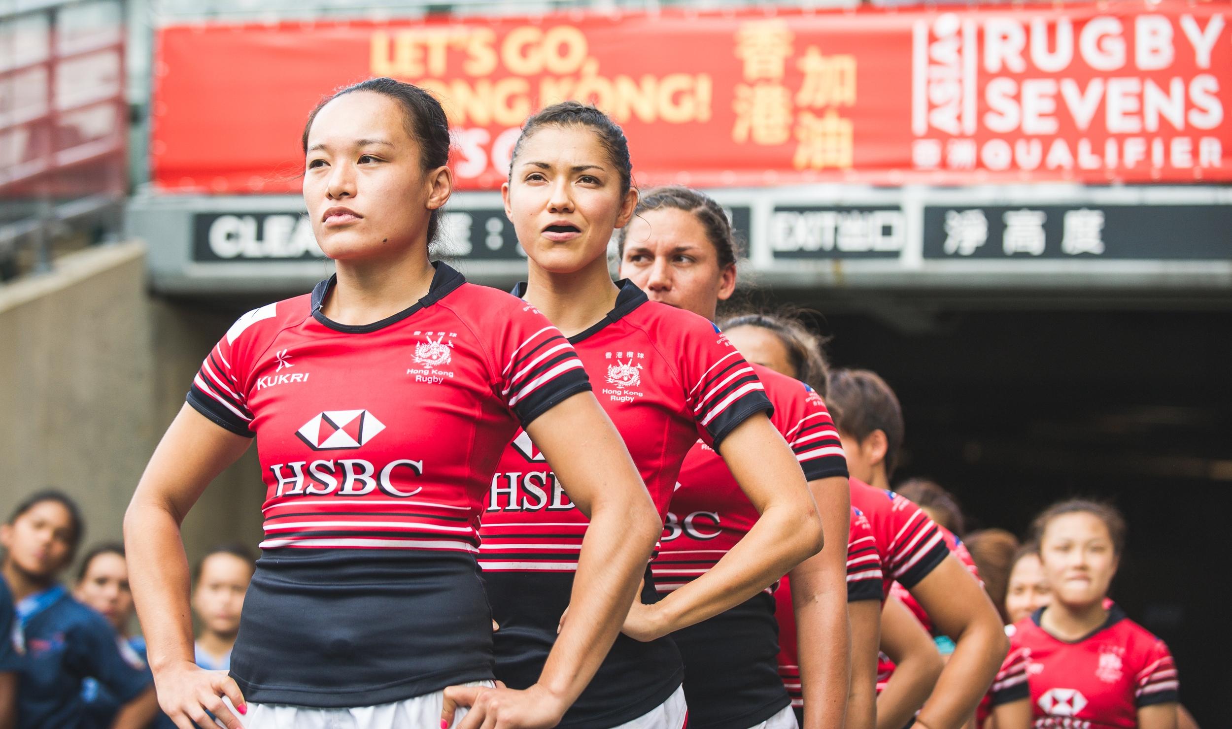 Hong Kong Women's Team Entrance