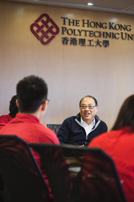 專訪校董會副主席林大輝博士