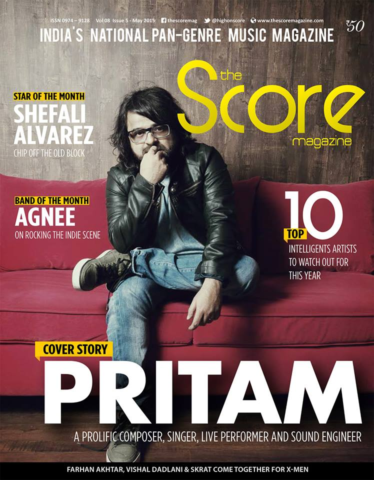May 2015 Score magazine cover.