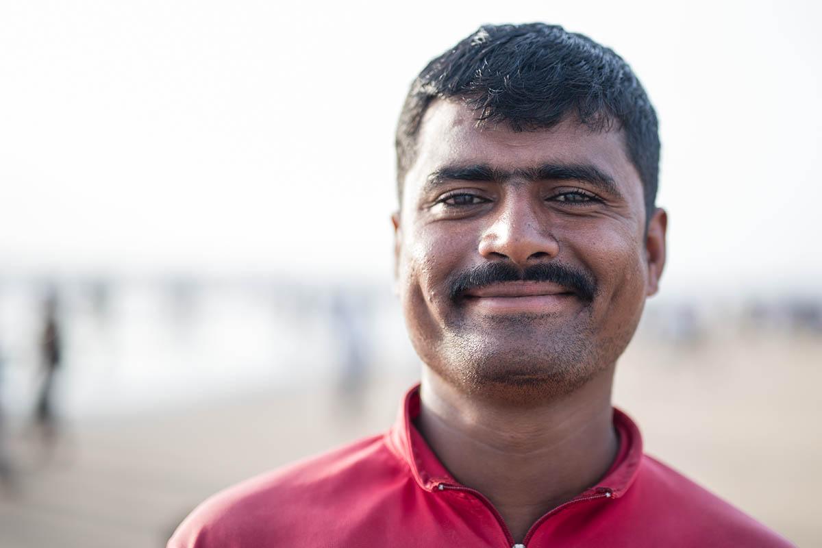 Lifeguard, Juhu beach