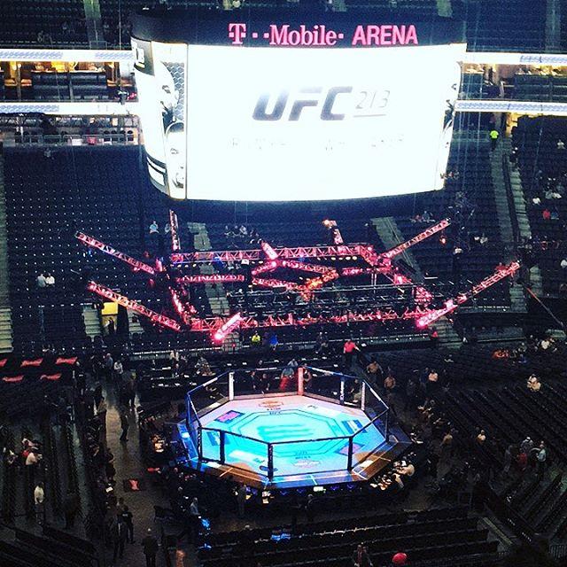 Here we go!!! UFC 213