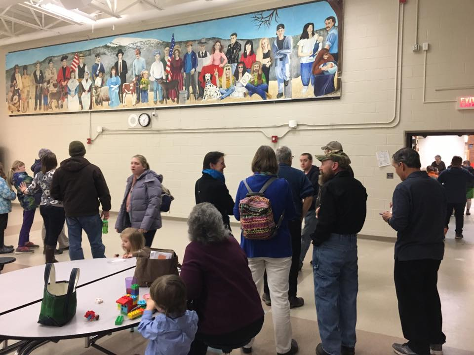 Friends of Mascoma Foundation is proud to have saved and restored the Generations Mural that had to be removed in pieces from the old existing wall , stored and rehung in a new spot. We thank Matt Dow, our board member, and MTD Property for donating their time and expertise to rehang the mural. Gary Hamel of Orange, pictured above in the hat and beard, was the original artist in residence. We would love to see this mural continue.