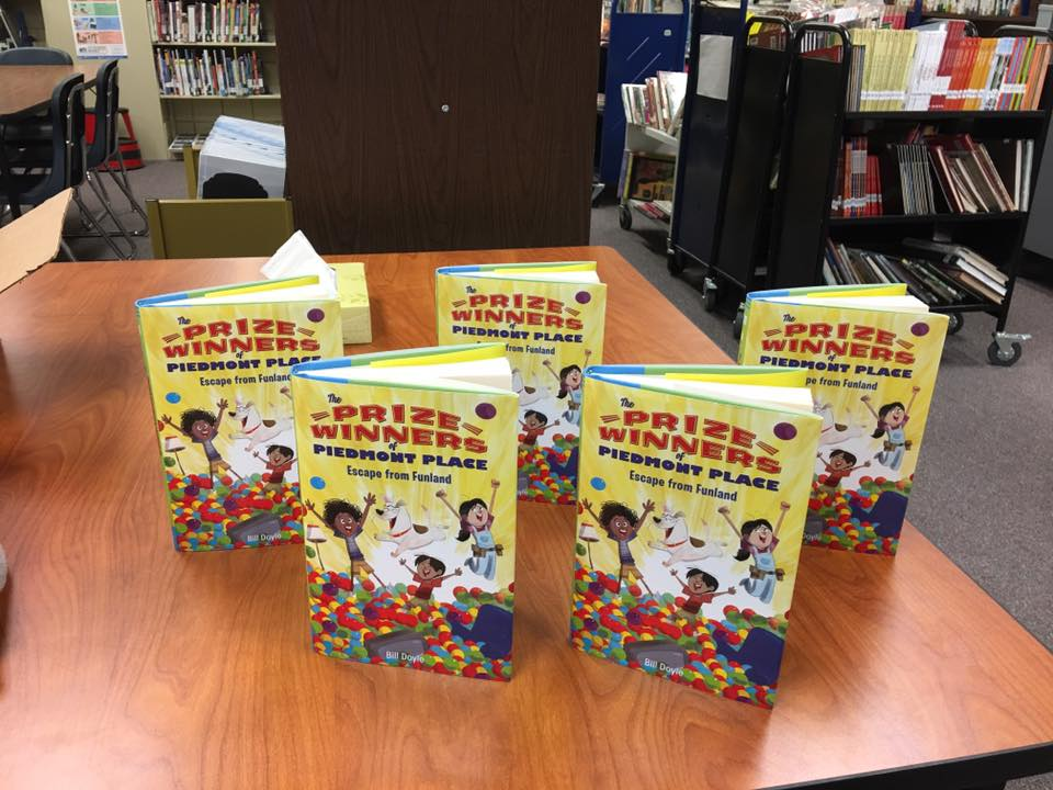 Bill Doyle's newest book and sequel to the book the students just read. FOM donated these five books to the library and we are pretty sure they are already checked out!