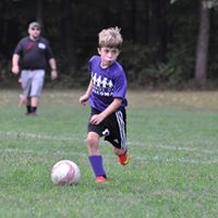Bryce Porter of Enfield is a member of the soccer team sponsored in our name this year.