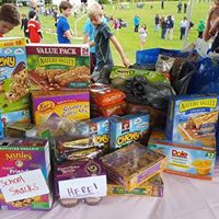 Upper Valley Thunder  Snack Roundup yielded 63 pounds.      -