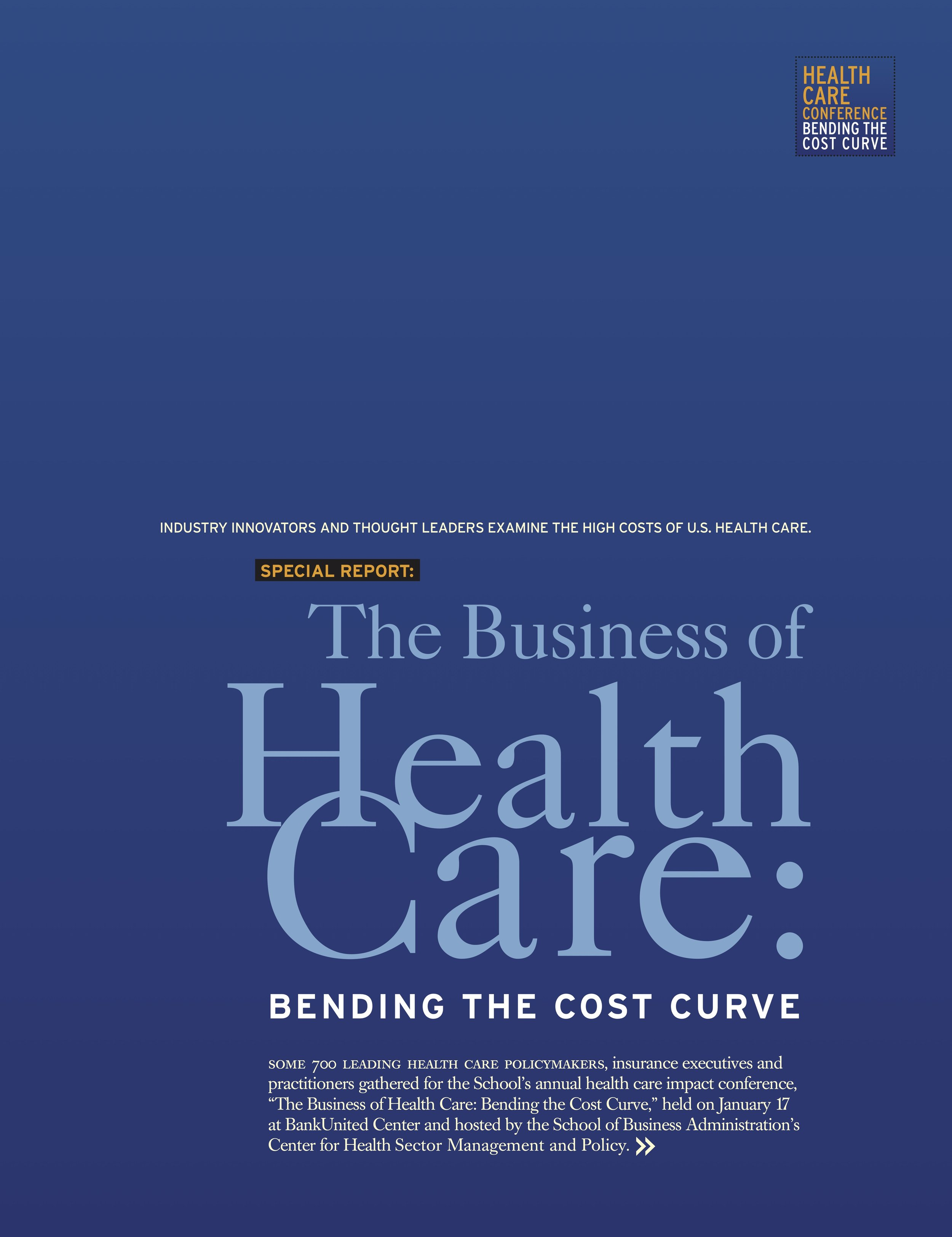 2014 The Business of Healthcare -