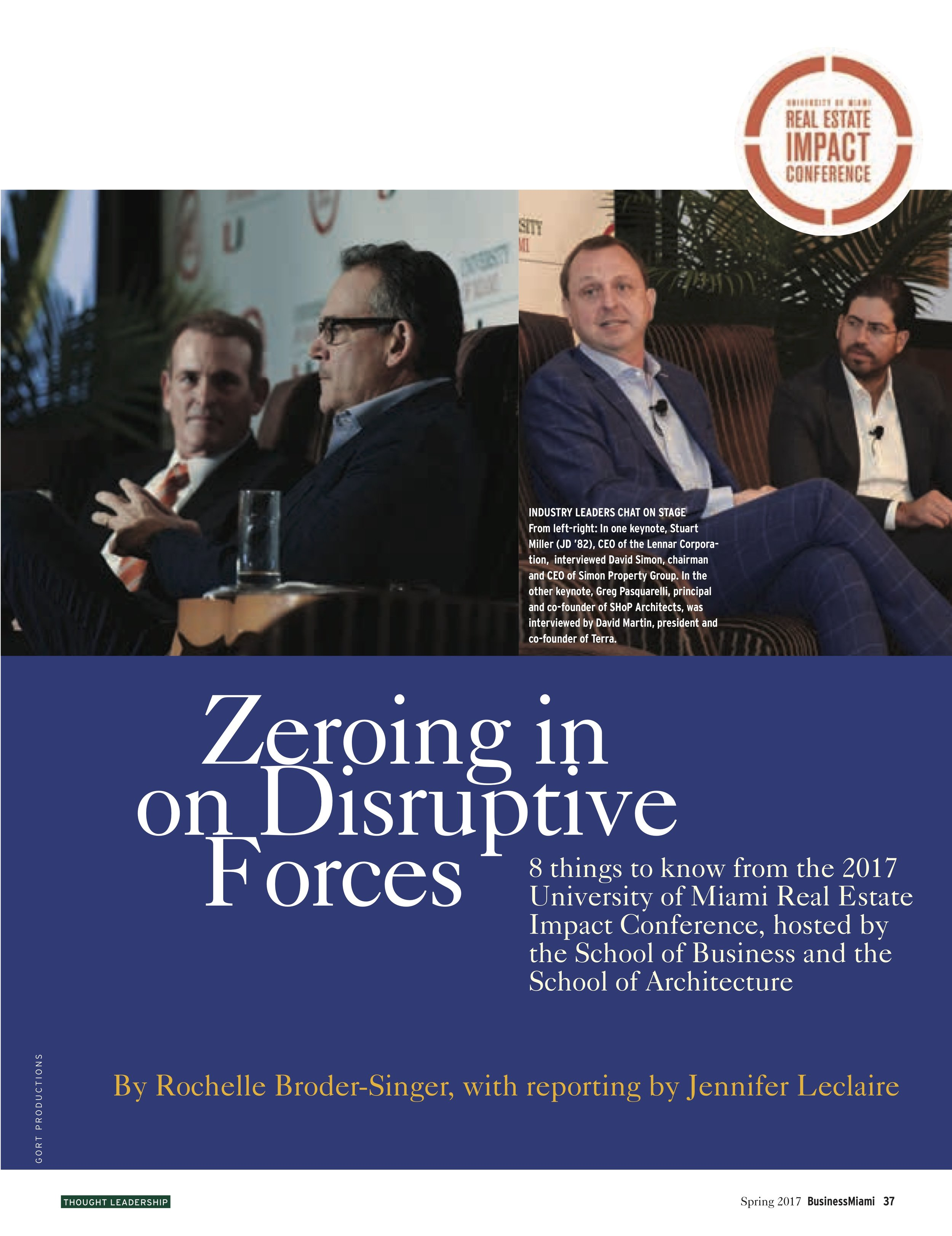 2017 Real Estate Impact Conference -