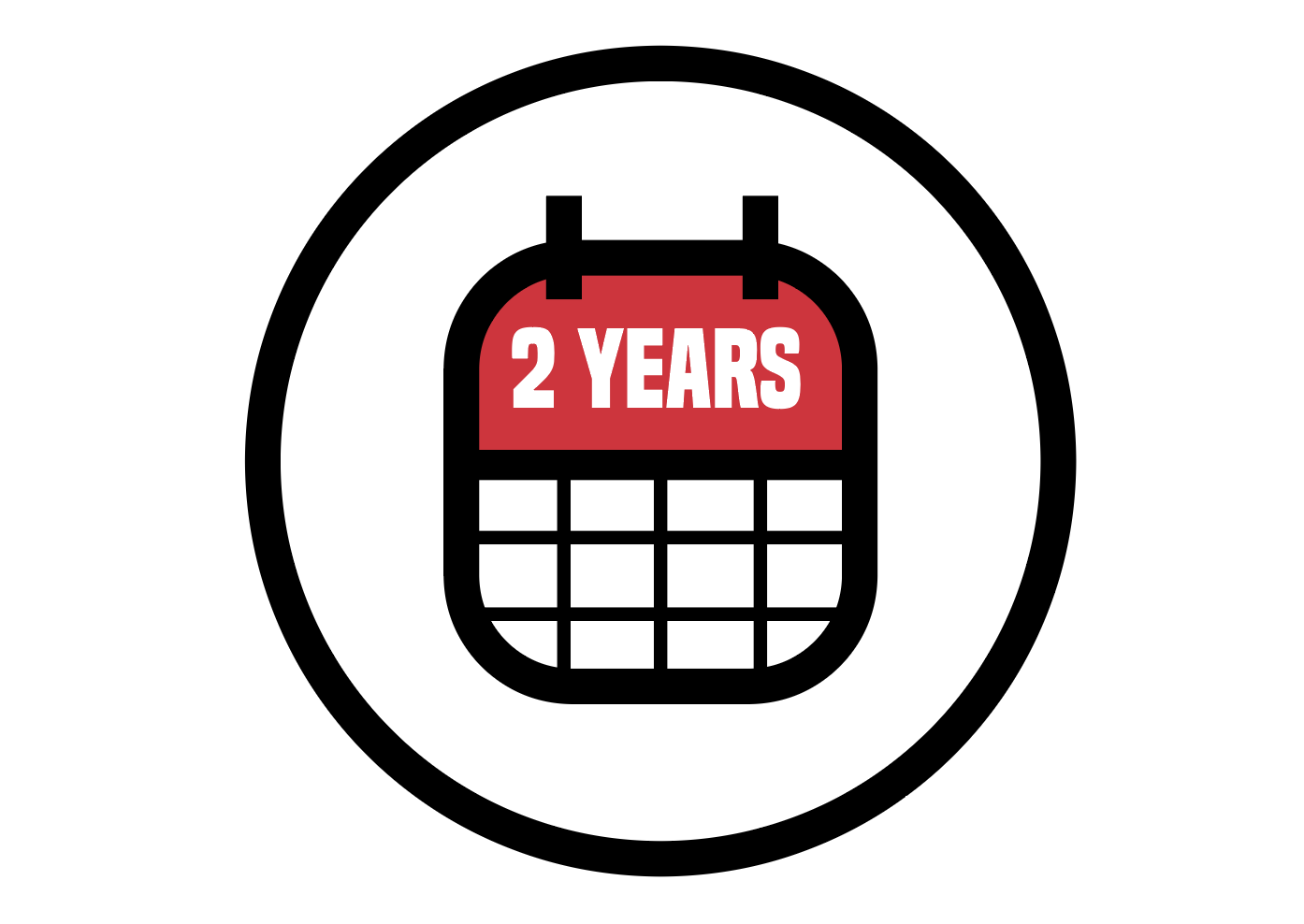 Long Service Interval - The 2-year service interval reduces your down-time and maintenance costs.