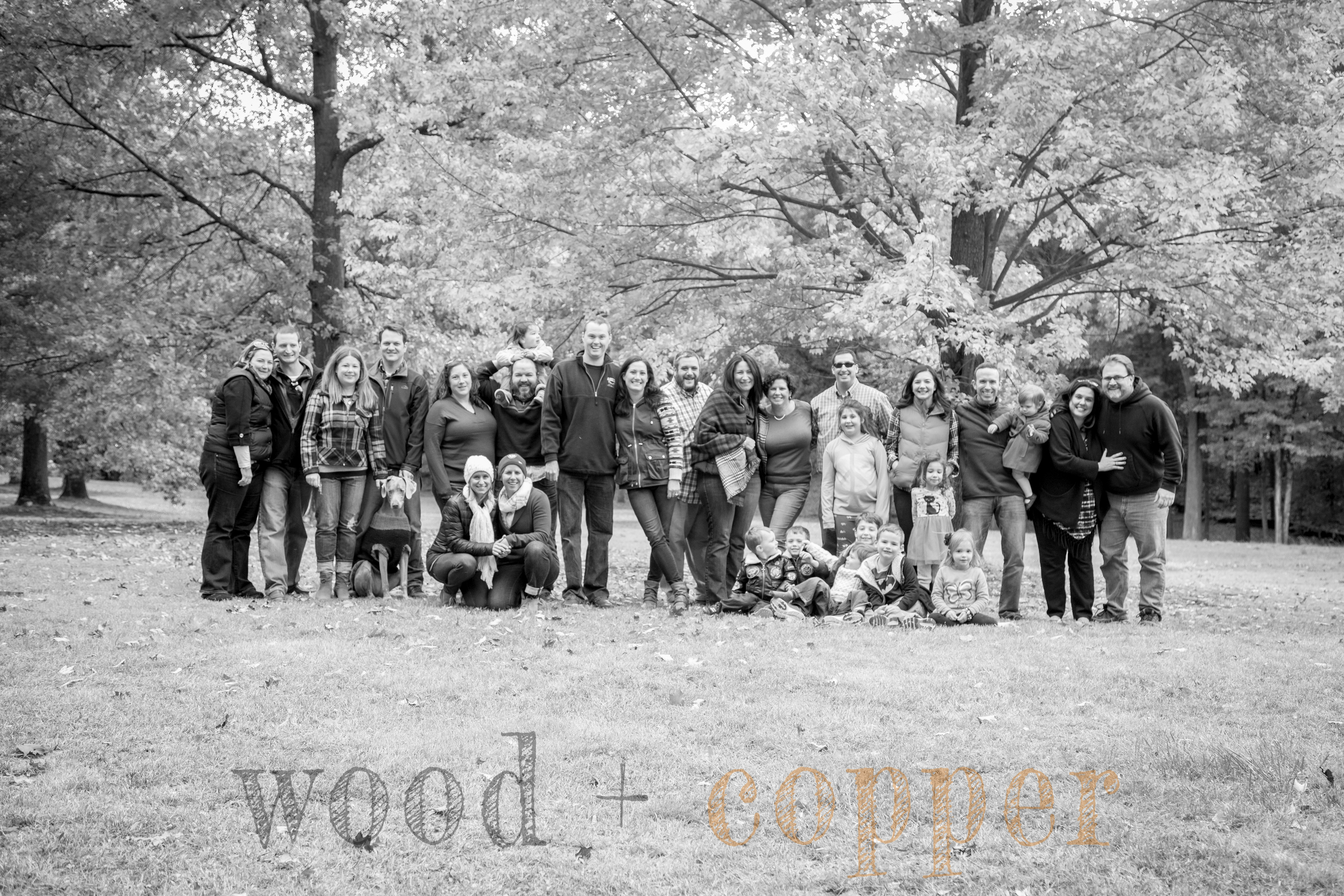 Our 4th annual Photo-Palooza with our Connecticut Crew took place a couple weeks ago...8 families, 16 adults (I use the term loosely...) (18 counting Will + Janet...), 10 kids (plus at least one in utero...), three dogs (sometimes more) - and a tremendous amount of laughter, leaves, and love.