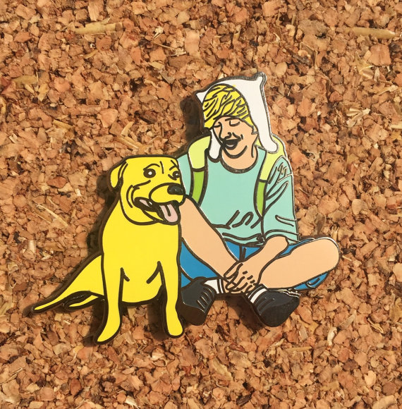 Adventure Real Time Hat Pin