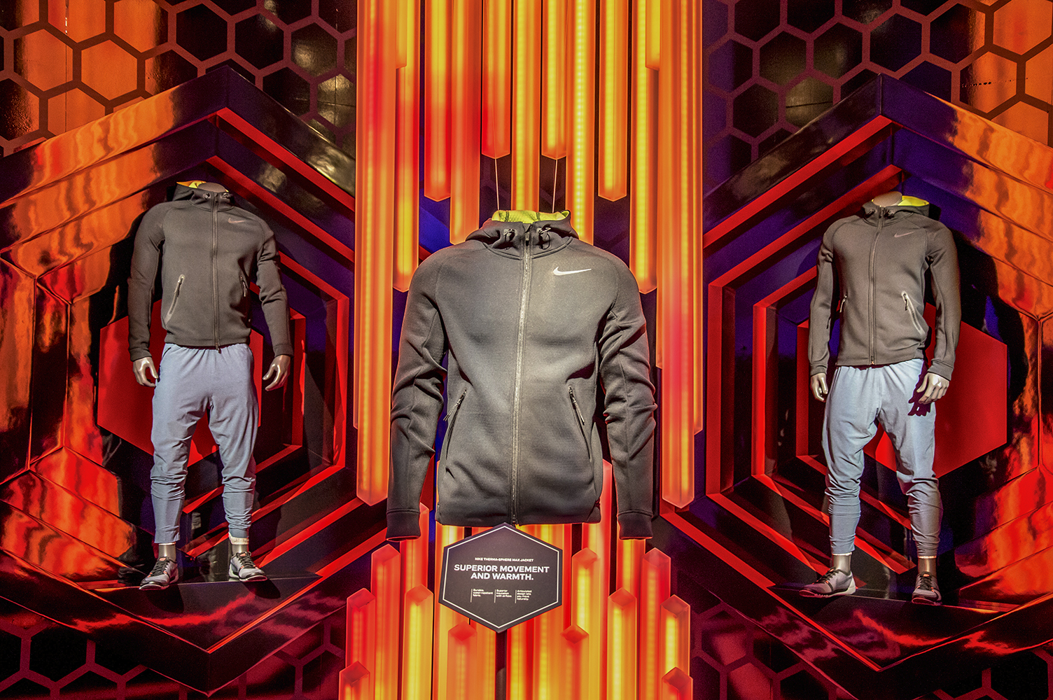 THERMA-SPHERE MAX + HYPER WARM    NikeTown New York, NY  |  2015