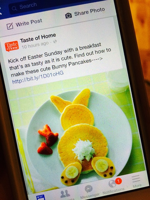 Cute Idea for Easter...or Friday, from  Taste of Home.