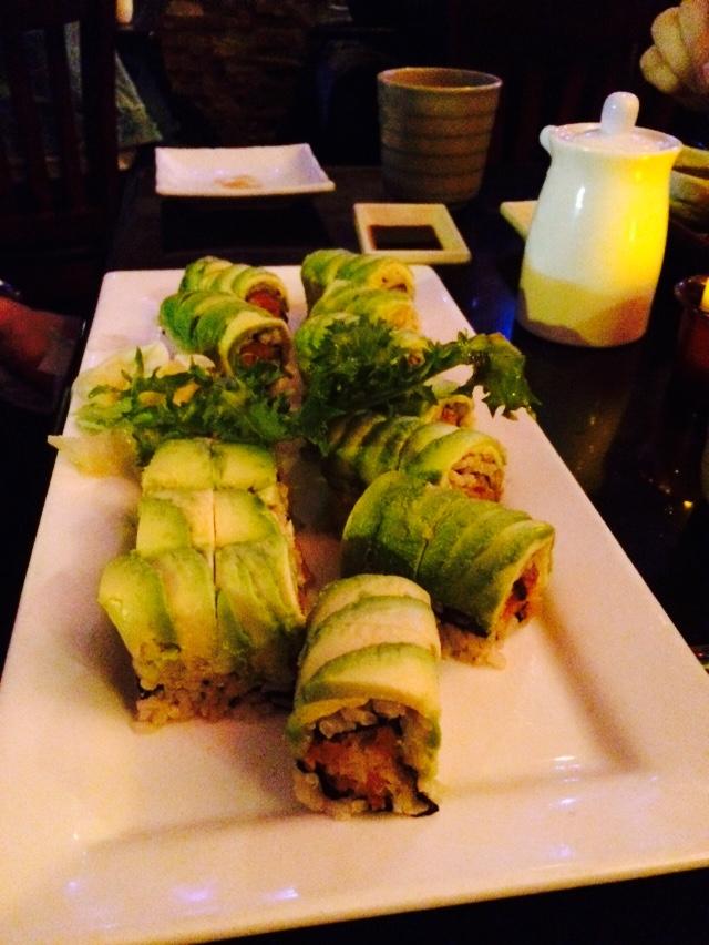 Vegetarian Dragon Rolls