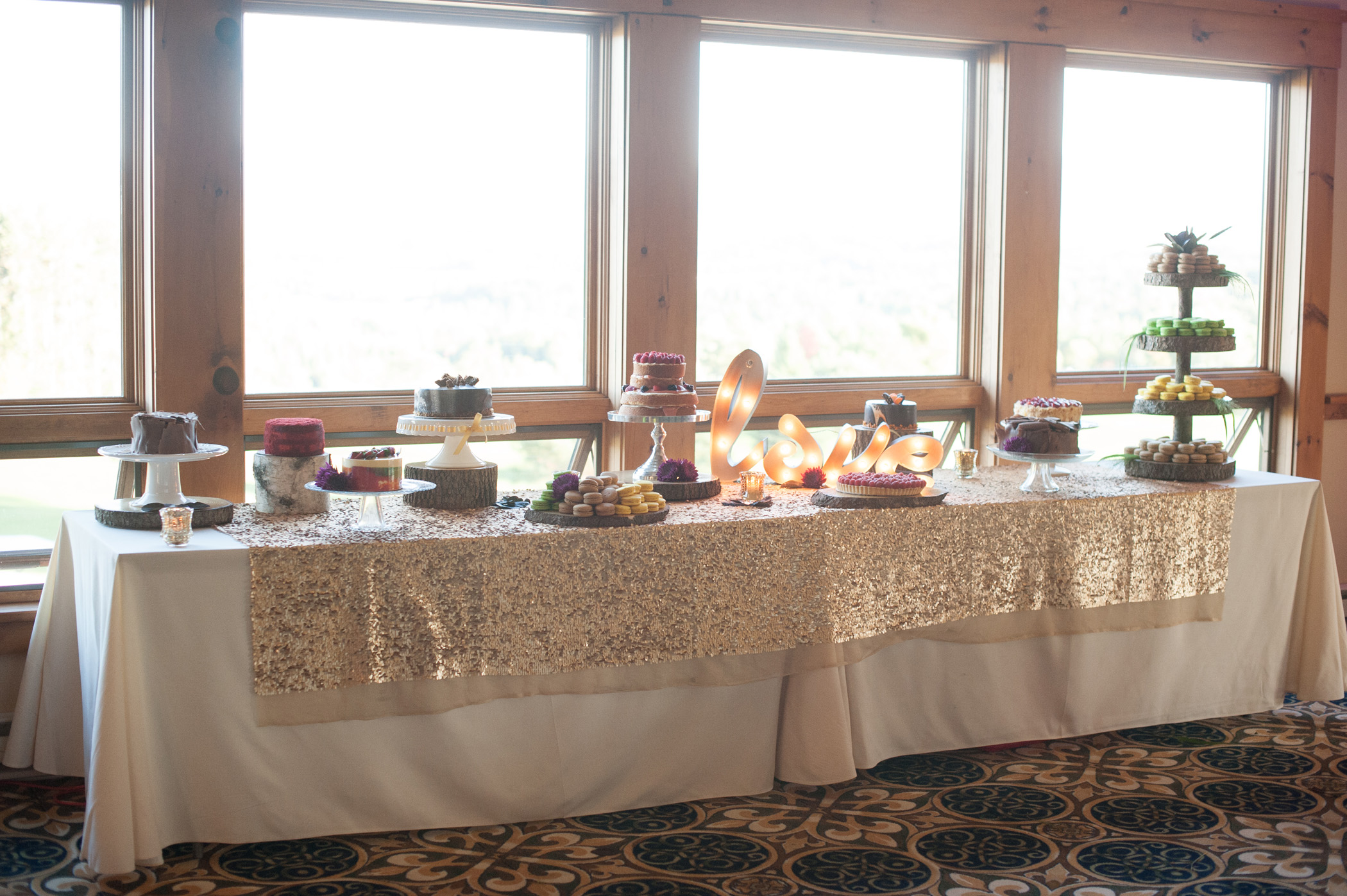 Sweet Treats for the Drewsia Wedding. Photo by Jared & Debbie Photography