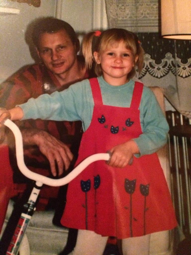 My dad always wore his Hugh Hefner robe