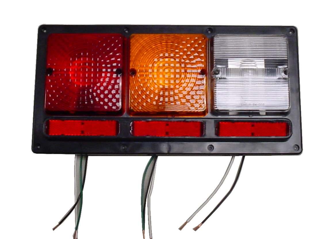 New Command Modern License Plate Light fasteners 003-70b Light and bracket