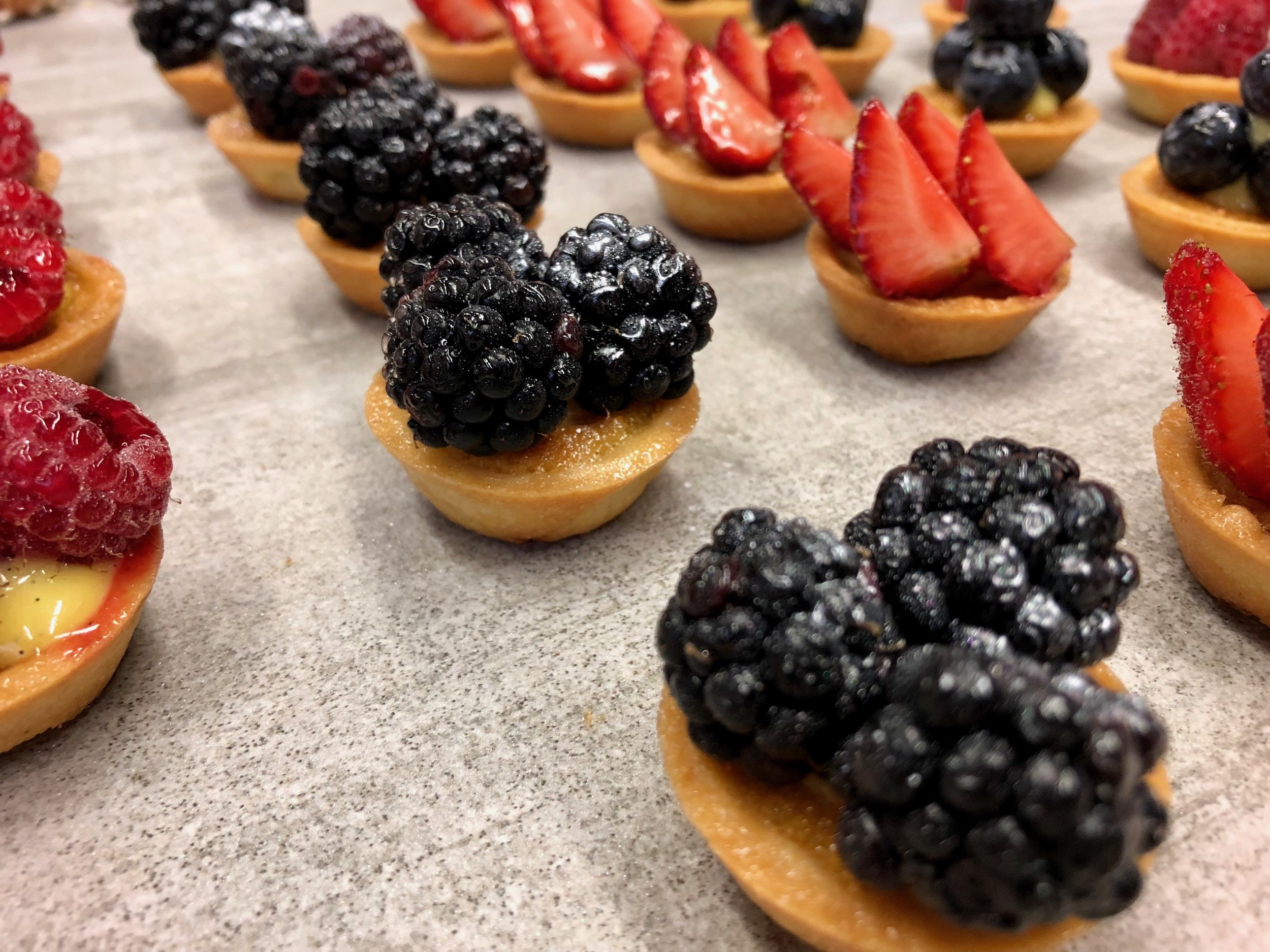 Fruit Tartelettes