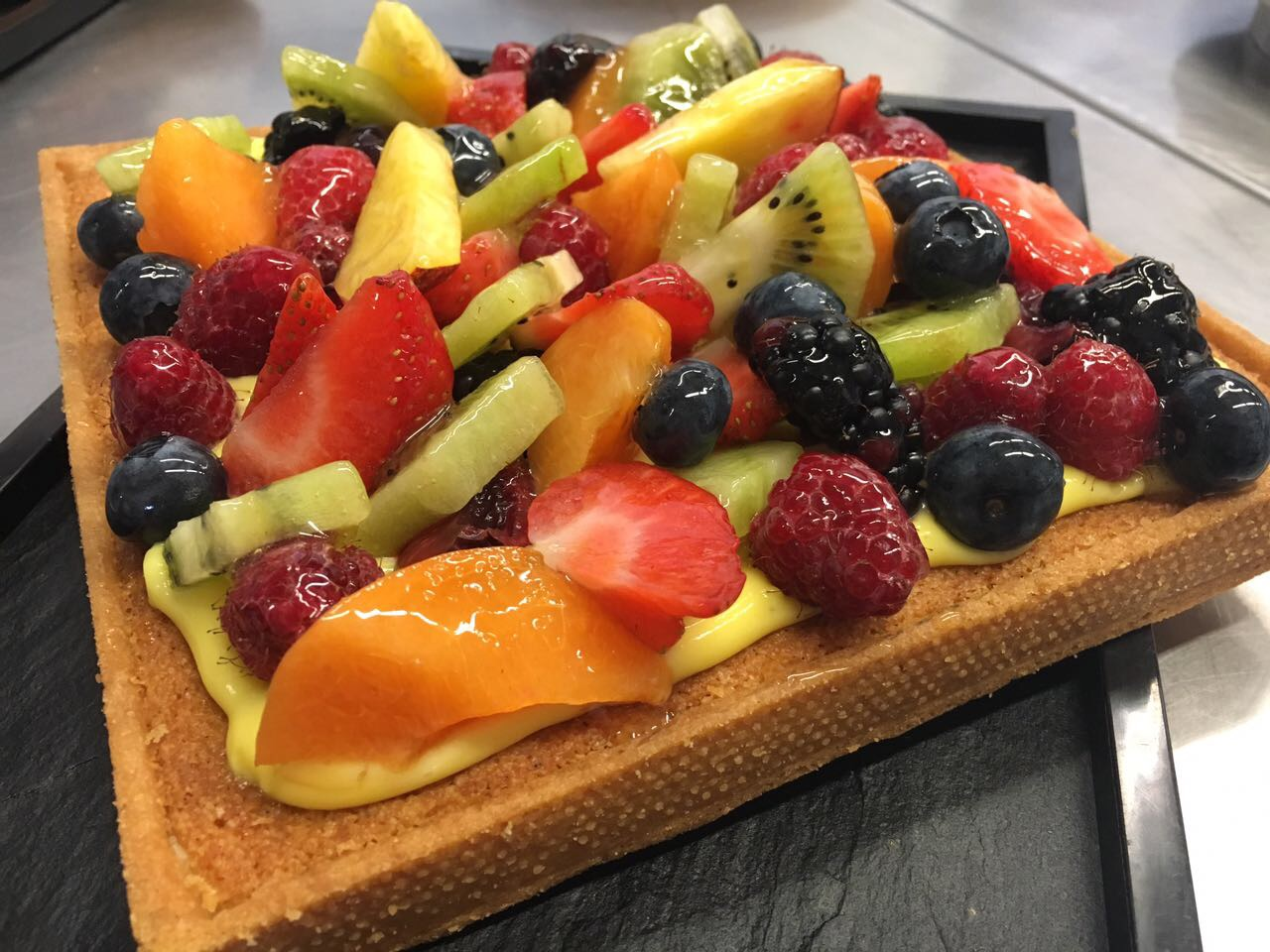 Crostata di Frutta e Frangipane
