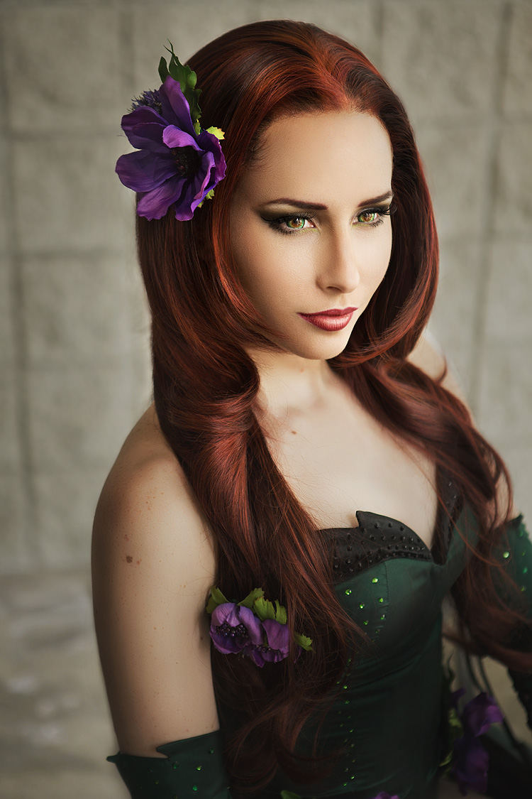 Bindi Smalls as Poison Ivy of DC Comics