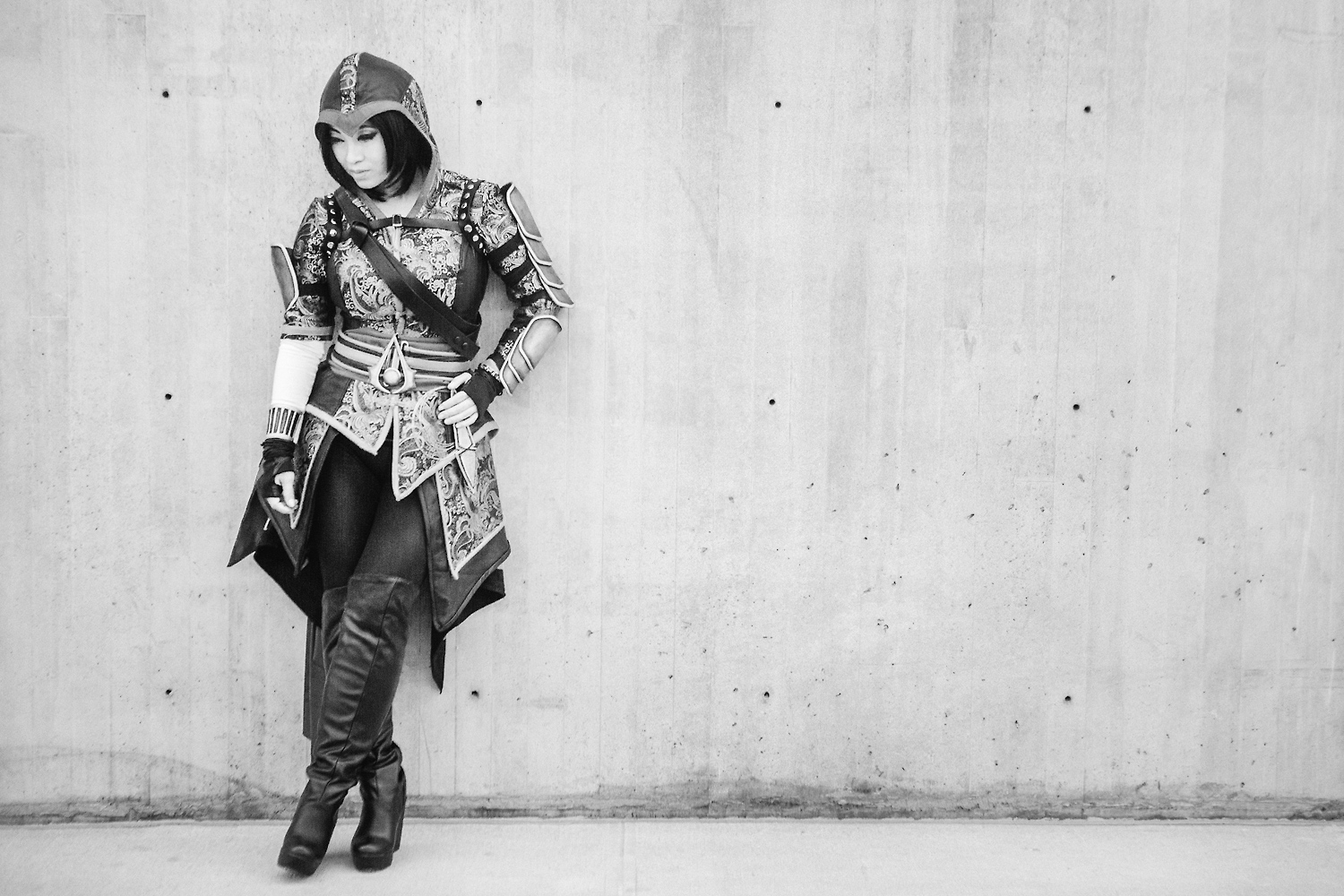 Yaya Han as Shao Jun of Assassin's Creed