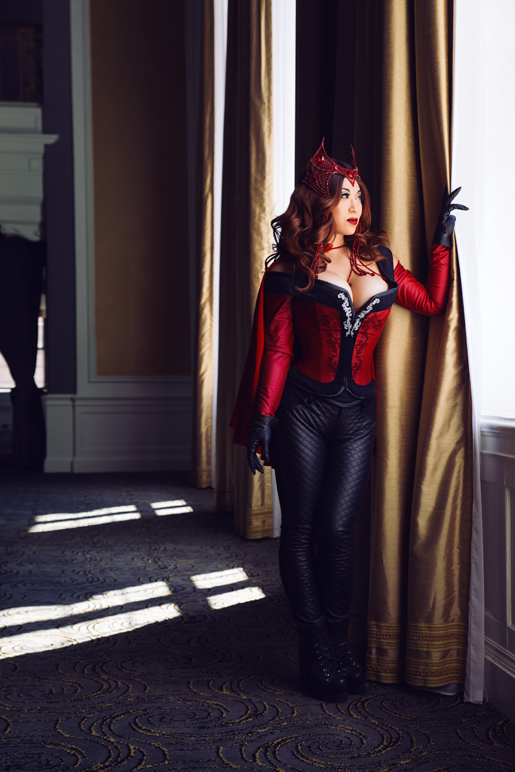 Yaya Han as The Scarlet Witch