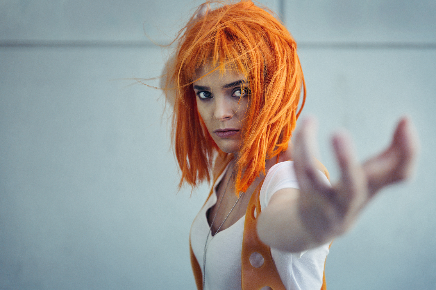 Lacey Berggren as Leeloo of The Fifth Element