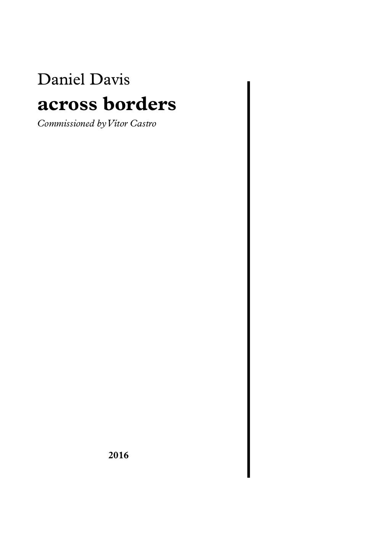 across borders (2016)